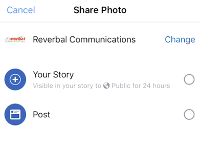 Start using Stories for Brand Pages today